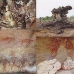 โปสการ์ด อุทยานประวัติศาสตร์ภูพระบาท จังหวัดอุดรธานี /อุทยานประวัติศาสตร์/โบราณสถาน