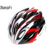 หมวกจักรยาน RockBros สีแดงดำขาว