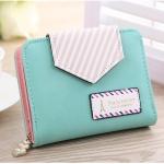 กระเป๋าสตางค์ผู้หญิง ทรงสั้น Cutety Candy - Green Blue
