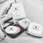 Coco Blanc Aura CC Pressed Powder แป้งโคโค่ บล็อง แป้งหน้าเงา ฉ่ำ วาว
