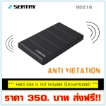 "SEATAY HD216 USB 3.0 External 2.5"" SATA HDD Hard Drive Anti Vibration Enclosure"