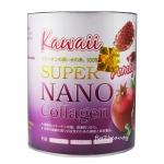 Kawaii SUPER NANO Collagen Pomegranate คาวาอิ ซุปเปอร์ นาโน คอลลาเจน คอลลาเจนกันแดด รสทับทิม ขาวใส ไม่กลัวแดด