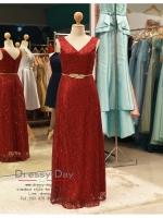 รหัส ชุดราตรี :PF088 ชุดราตรียาว สีไวน์แดง ดีเทลเพชรทั้งชุด สวยหรูสง่าดูดีมากๆ จะใส่ไปงานแต่งงาน งานเลี้ยง งานประกวด งานรับรางวัล งานกาล่าดินเนอร์ งานพรอม งานบายเนียร์ หรือเป็นชุดเพื่อนเจ้าสาว สวยหรู ดูดีสุดๆ