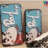 iPhone 6, 6s - เคส TPU ลายชินจัง Bad boy