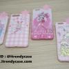 iPhone 6, 6s - เคส TPU ลาย Pink Girl ดาว 3D