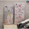 iPhone 6, 6s - เคสใส TPU ลายนกฟลามิงโก้ Flamingos