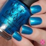 OPI-Venice The Party สีฟ้าน้ำทะเลสวย ผสมชิมเมอร์มุขพิเศษเนื้อละเอียดสวย