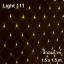 ไฟตาข่าย LED สีวอมไวท์ ขนาดเล็ก 1.5x1.5 ม. thumbnail 1