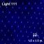 ไฟตาข่าย LED สีฟ้า ขนาดเล็ก 1.5x1.5 ม. thumbnail 1