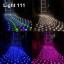 ไฟตาข่าย LED ขนาดใหญ่ 3x3 m สีแดง (กระพริบ) thumbnail 3