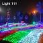 ไฟตาข่าย LED ขนาดใหญ่ 3x3 m สีแดง (กระพริบ) thumbnail 12