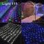 ไฟตาข่าย LED ขนาดใหญ่ 3x3 m สีแดง (กระพริบ) thumbnail 8