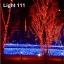 ไฟตาข่าย LED ขนาดใหญ่ 3x3 m สีแดง (กระพริบ) thumbnail 14