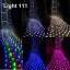ไฟตาข่าย LED ขนาดใหญ่ 3x3 m สีแดง (กระพริบ) thumbnail 2