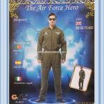เช่าชุดแฟนซีนักบิน ชุดนักบิน Top Gun The Air Force Hero หล่อเท่ห์สุดๆ