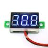 """ดิจิตอล โวลต์มิเตอร์ 4-30V จอขนาด 0.36"""" Mini Digital Voltmeter DC 4-30V Voltage Meter Voltmeter 4.5-30V สีน้aเงิน"""