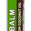 12 ชิ้น -- บาล์มแท่งน้ำมันมะพร้าวสกัดเย็น กลิ่นมะพร้าวธรรมชาติ ไม่แต่งสีและกลิ่น ขนาด 10 กรัม