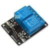 บอร์ด Relay 2 ช่อง 5 โวลต์ 10A 250V Active LOW สำหรับ Arduino และ Microcontroller