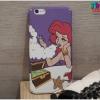 iPhone 7 - เคสแข็งปิดขอบ ลาย Ariel Smoke (The Little Mermaid)