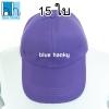15ใบ สีม่วง ฟรีไซส์ ราคาถูก หมวกกีฬาสี