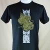 เสื้อลายไทย Linethai T-shirt จำหน่ายเสื้อลายไทย ลายสิงห์คู่ (Line Double Lions)