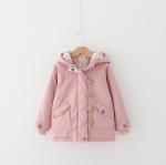เสื้อกันหนาว (หนา) สีชมพู แพ็ค 5 ตัว ไซส์ 100-110-120-130-140