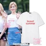 เสื้อยืด Bravol SUMMER Sty.Twice -ระบุสี/ไซต์-
