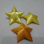เหรียญโปรยทาน ริบบิ้น รูปดาว หลากสี