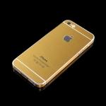 สติ๊กเกอร์สีทอง IPhone 5 เปลี่ยนเป็น IPhone 5S เฉดทองเข้ม
