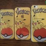iPhone 5, 5s, SE - เคสใสลายปิกาจู Pikachu Pokeball Pokemon