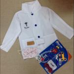 ชุดคุณหมอ เสื้อ+อุปกรณ์ตามรูป แพ็ค 4 ชุด ไซส์ M-M-L-L