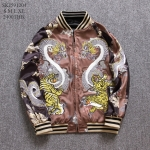 SKJ591204 / XL / *** ขายแล้ว สั่งพรีได้ค่ะ *** เสื้อแจคเก็ตซิปหน้า งานปักลายแฟชั่นสไตล์ SUKAJAN( งานเลียนแบบ ) MADE IN CHINA เนื้อผ้าดี คัตติ้งสวย ชิลเอ้าท์&อินเทรนด์