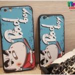 iPhone 7 - เคส TPU ลายชินจัง Bad boy