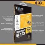 Samsung A7 2017 - ฟิลม์ กระจกนิรภัย FOCUS แบบใส UC 0.33 mm แท้
