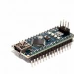 Arduino Nano 3.0 รุ่นใหม่ใช้ชิฟ CH340G บัดกรีขาแล้ว พร้อมสาย