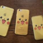 iPhone 5, 5s, SE - เคสใสลายปิกาจู Pikachu Face Pokemon