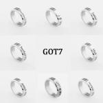 แหวนเงิน GOT7 MEMBER -ระบุสมาชิก-