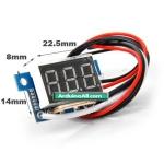 """0.36"""" DC Amp Ammeter 10A Red LED Digital Current Panel Amperes Meter"""