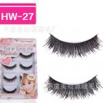 HW-27#ขนตา(ขายปลีก) เเพ็คละ 5 คู่ ขายยกเเพ็ค