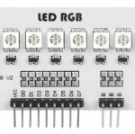 Full Color RGB 8-SMD 5050 LED Module for Arduino