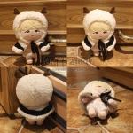 ตุ๊กตาแกะชูก้า + ชุด (20cm)