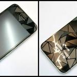ฟิล์มกันรอย 3D ลายสามเหลี่ยมเพชรปิรมิด IPhone 5/5S