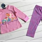 เสื้อ+กางเกง เจ้าหญิง แพ็ค 5ชุด ไซส์ 80-90-100-110-120