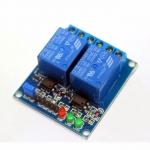 โมดูล รีเลย์ 2 ช่อง 9V relay 2 channel 9V relay 2 ช่อง isolation control Relay Module Shield
