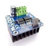 บอร์ดขับมอเตอร์กระแสสูง ขับได้ถึง 43A Module IBT-2 smart car motor drive module BTS7960 43A H-Bridge PWM BTS7960 Motor Drive 43 A module