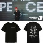 เสื้อยืด PEACEMINUSONE Sty.G-Dragon -ระบุสี/ไซต์