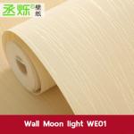 Wallpaper 3มิติ moon light Wall-WE01 ครีมทอง