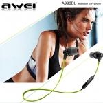 AWEI หูฟังบลูทูธ A990BL Earphone มาพร้อมเสียงเบสที่แน่น (แท้)