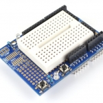Arduino ProtoShield Mini UNO Prototype Shield พร้อม Mini Breadboard