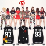 Jacket Basketball TWICE Name member -ระบุไซต์/สมาชิก-